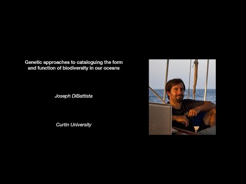 Joseph DiBattista - Genetic approaches to cataloguing biodiversity in our oceans