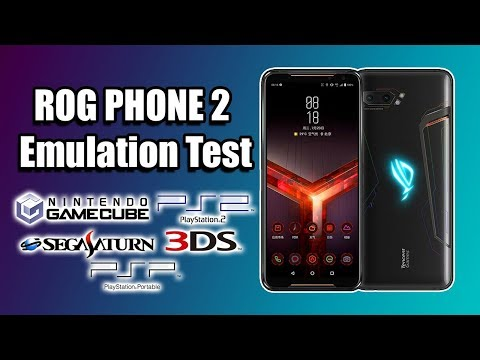 ROG Phone 2 Emulation Test - 855+ Dolphin Citra Redream Saturn PS2