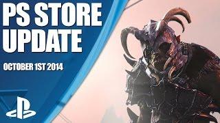 PlayStation Store Highlights - 1st October 2014