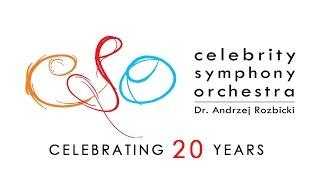 WARSAW CONCERTO - Celebrity Symphony Orchestra, Dr. Andrzej Rozbicki. October 25 LAC