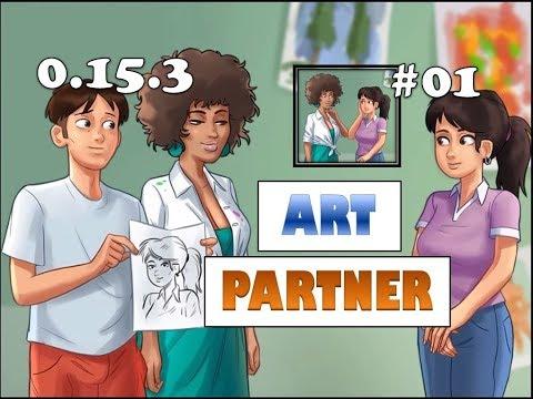 Summertime Saga Art Partner and Art Pad Quest | 0.16.1 | Miss Ross | Complete Walkthrough