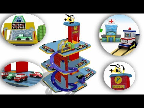 Train Cartoon - Toy Factory - Trains for Kids - Cars for Kids - Choo Choo Train - Toy Train