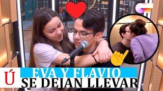 Eva y Flavio a punto de liarse en OT 2020