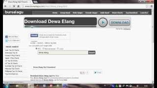Cara download lagu di Bursalagu com tanpa akun