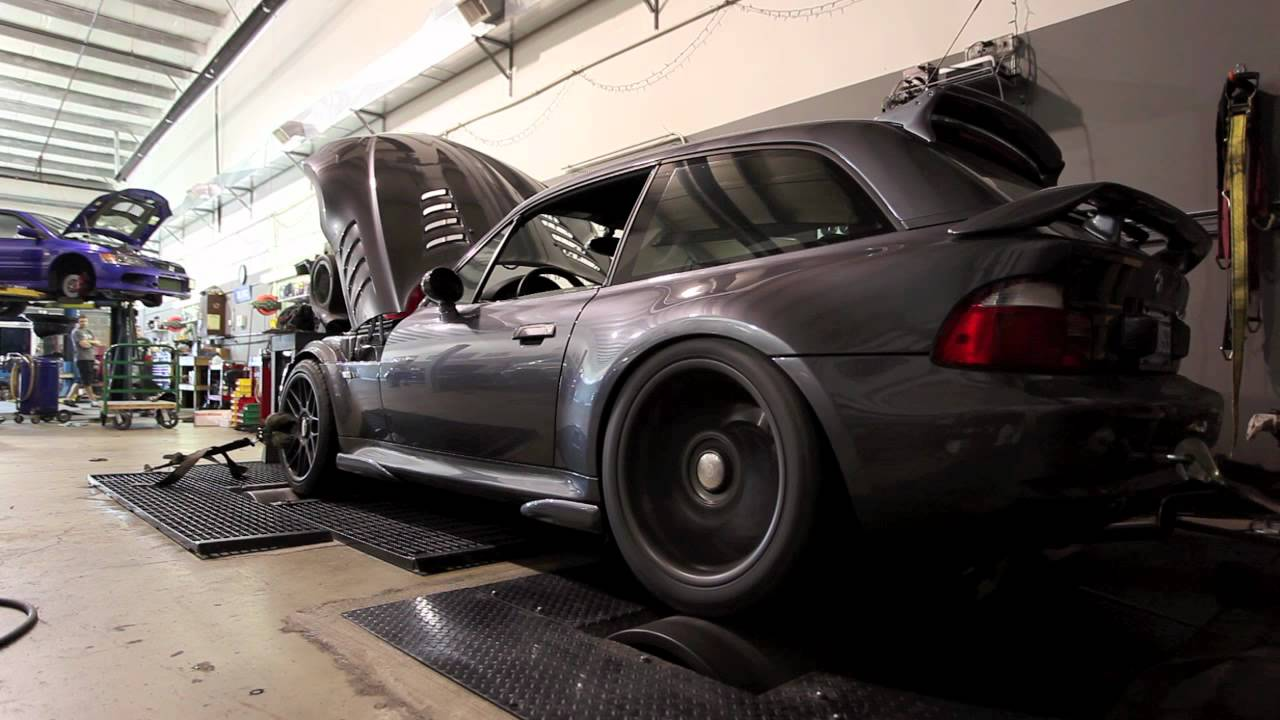 Supercharged 2002 Bmw M Coupe Dyno Run Youtube