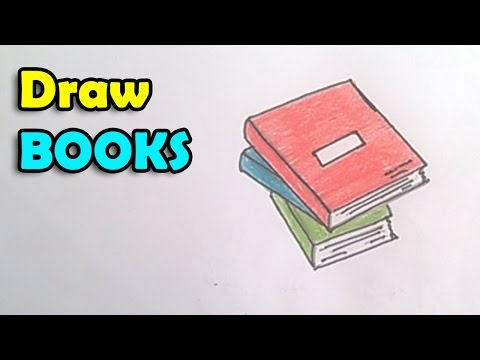 How To Draw Book Step By Step For Kids