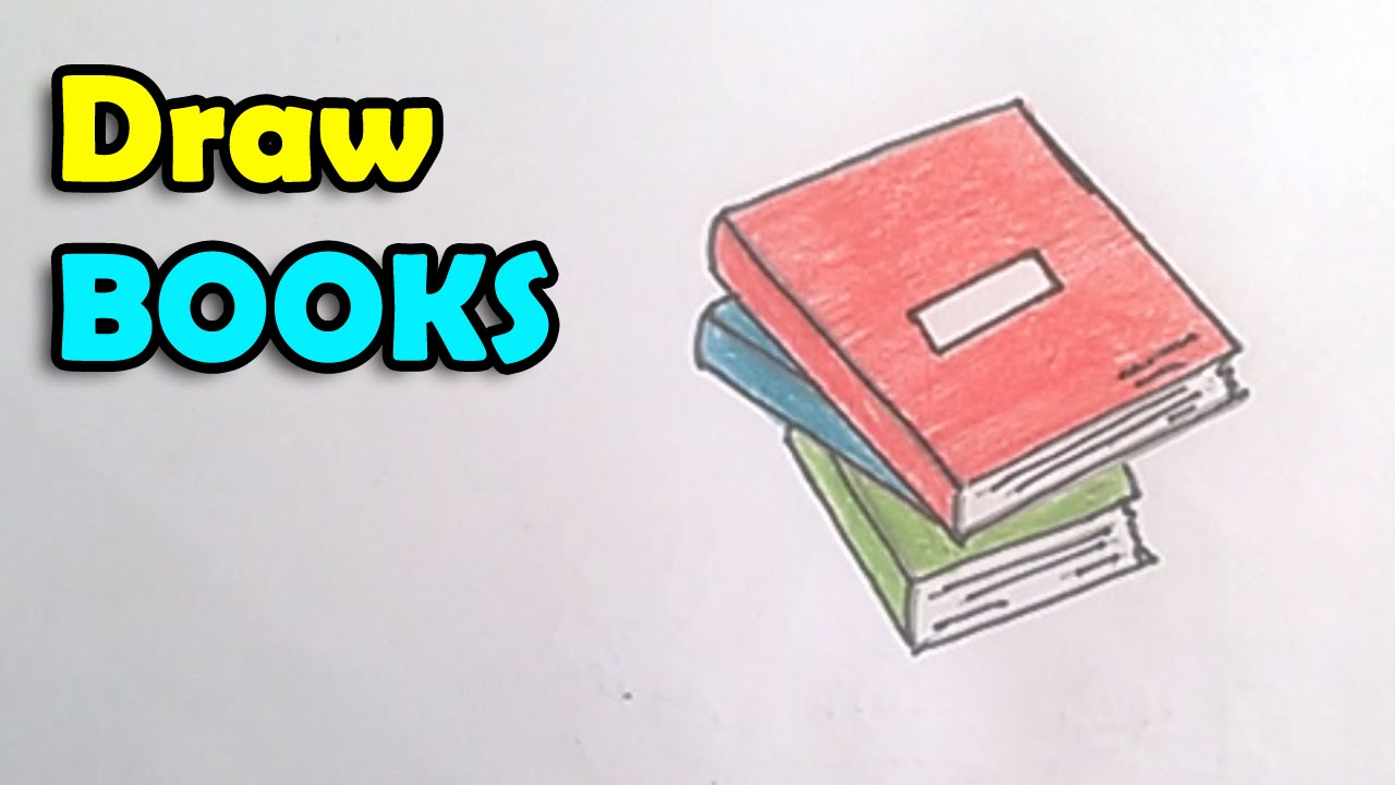 how to draw a book step by step for kids techers day card idea youtube