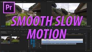 Adobe Premiere Pro CC Pürüzsüz Yavaş Hareket Oluşturma (2017)