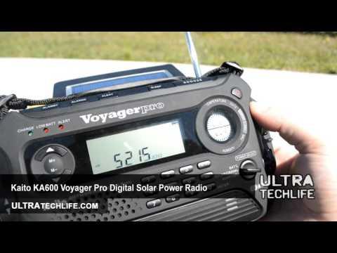 Kaito KA600 AM/FM/SW/NOAA Emergency Solar Radio Review - UltraTechLife.com