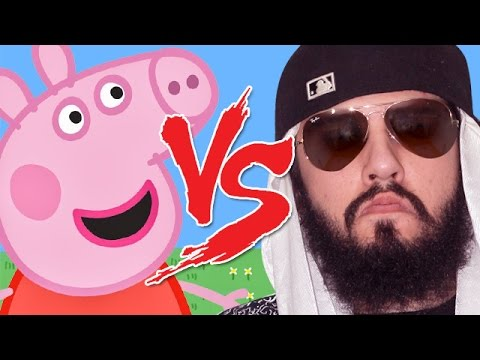 Peppa Pig vs Mussoumano | Batalha Cartoon