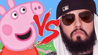 Peppa Pig Mussoumano | Batalha Cartoon
