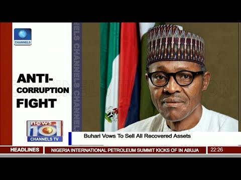 Buhari Vows To Sell All Recovered Assets Pt.2 |News@10| 19/02/18