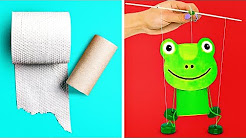 15 CREATIVE OUT-OF-WASTE MATERIAL CRAFT IDEAS
