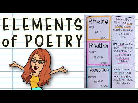 Poetry for Beginners: Elements of Poetry