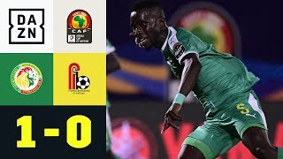 Sadio Mane legt auf für Idrissa Gueye: Senegal - Benin 1:0 | Afrika Cup | DAZN Highlights