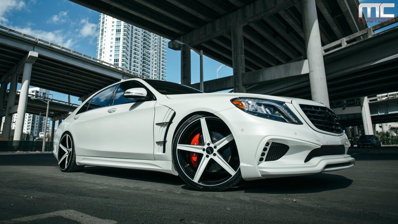 MC Customs   Mercedes-Benz S550 · Savini Wheels
