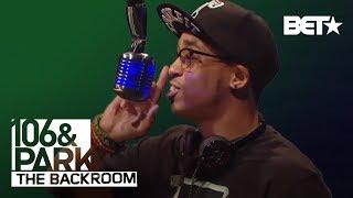 Cory Gunz in The Backroom | 106 & Park Backroom