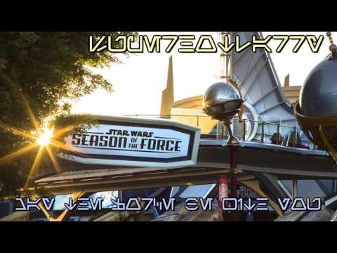 Disneyland Tomorrowland: Season of the Force Area Music Loop