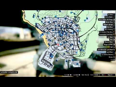 gta v stunt jump map with Watch on Unique Stunt Jumps  28GTA Vice City 29 moreover Watch likewise Unique Stunt Jumps  GTA III furthermore Gta 5 Jump Locations also Gta 5 All Spaceship Parts Locations.