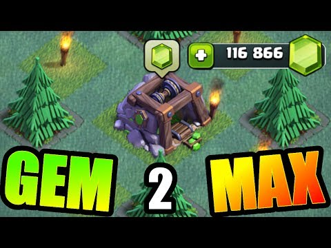 GEM TO MAX FINALE!!! - MAX BUILDERS HALL 5 BASE!! - Clash Of Clans