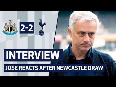 Jose Mourinho analyses draw at St James' Park | INTERVIEW | NEWCASTLE 2-2 SPURS