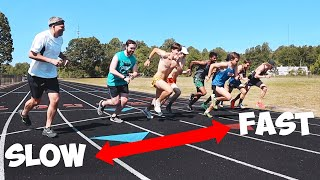 CRAZY FAST MILE RACE (NO TRAINING)!!