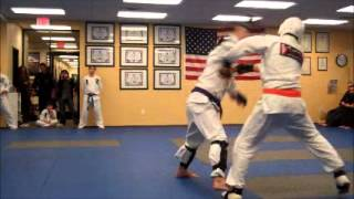 Purple Belt Sparring - Jeff Speakman's American Kenpo 5.0