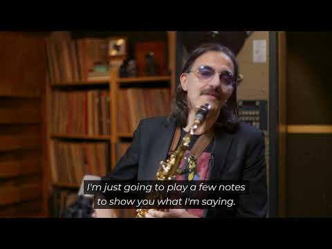 Max Ionata presents the Axos tenor saxophone