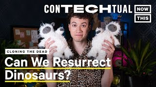 Can Cloning Bring Back Dinosaurs & Deceased Pets? | ConTECHtual | NowThis