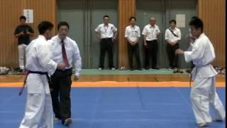軽量級 秋元晧貴(七州会)VS 山田伊寿実(桜塾)