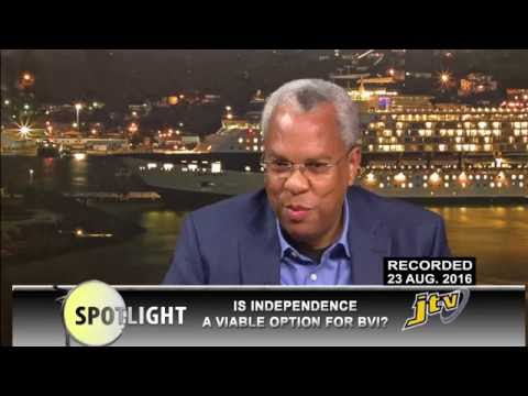 SPOTLIGHT   IS INDEPENDENCE A VIABLE OPTION FOR BVI
