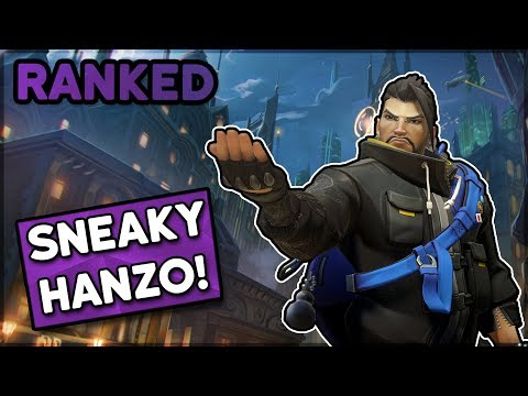 Sneaky Hanzo! • Overwatch 2-Stack Ranked thumbnail