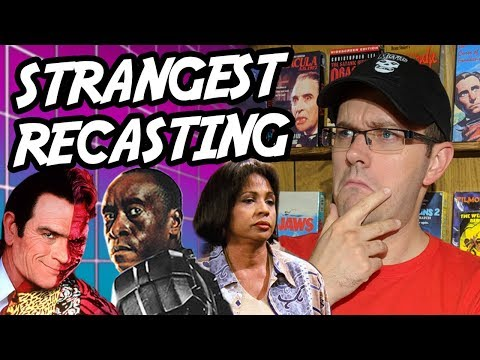Strangest Actor Recastings in Movies & TV - Rental Reviews