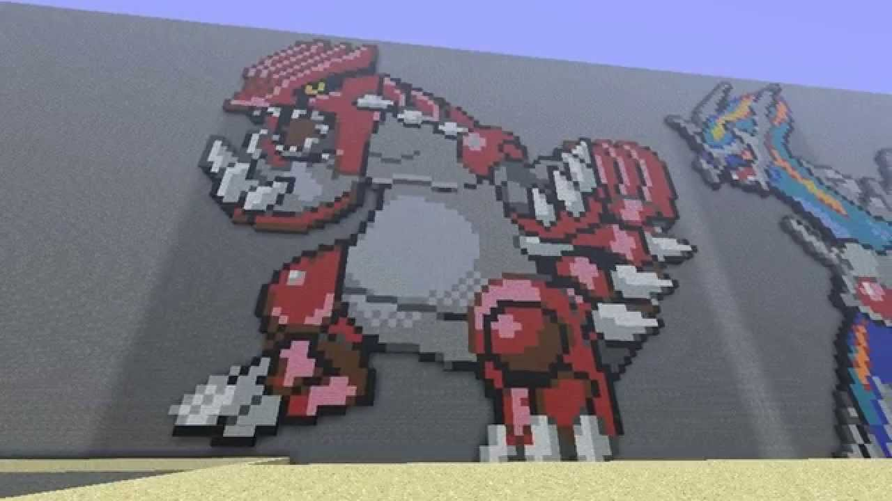 Groudon Pixel Art Youtube