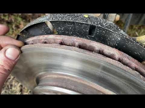 Проточка тормозных дисков Kia Rio без снятия