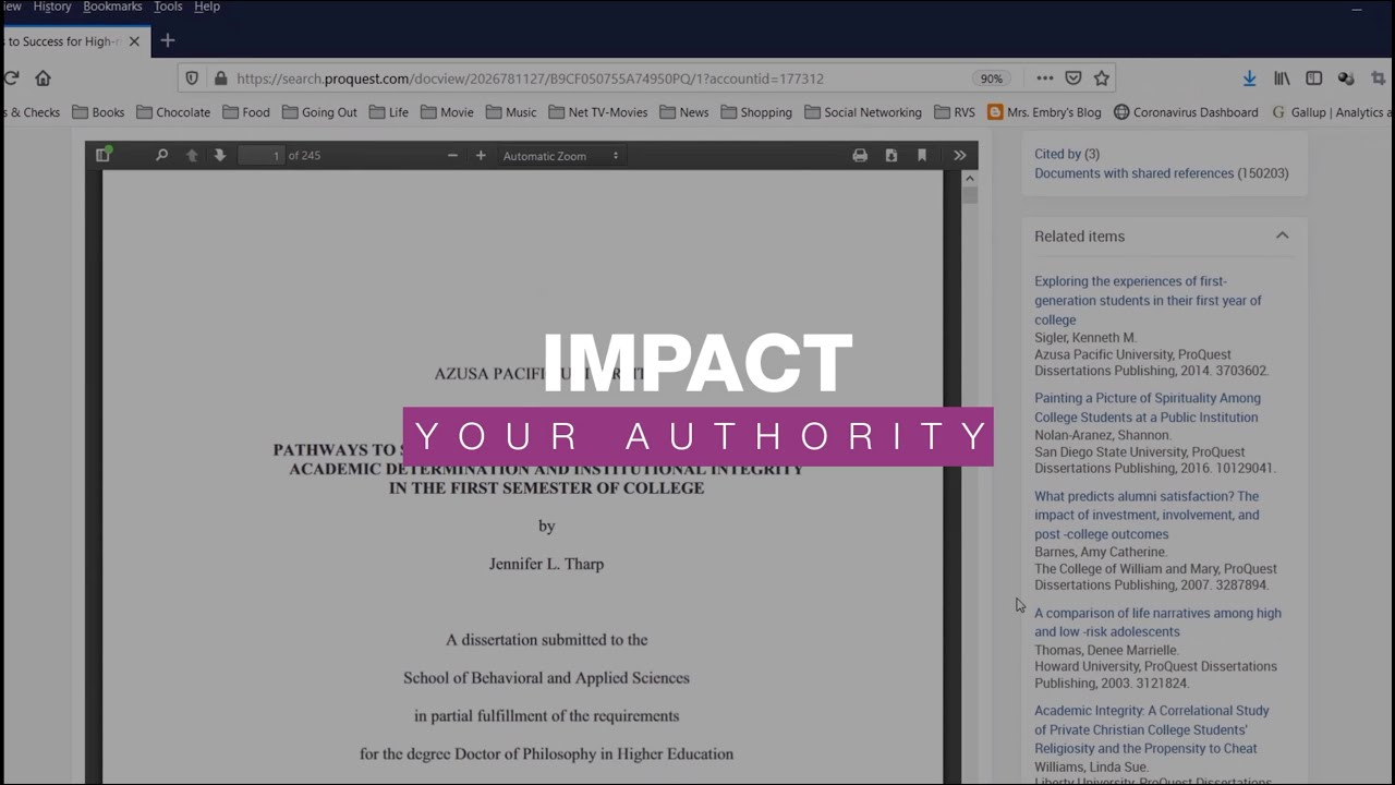 Proquest dissertation search strong college essays