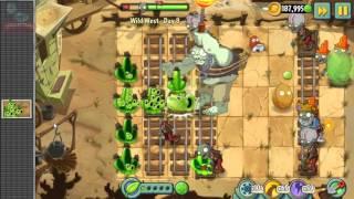 Plants Vs Zombies 2 Deafeat Wild West Gargantuar Zombies: Quest Complete