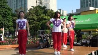 2017.5.21 津田沼公園特設ステージ mini-chu!!! 1曲目 love take it all...