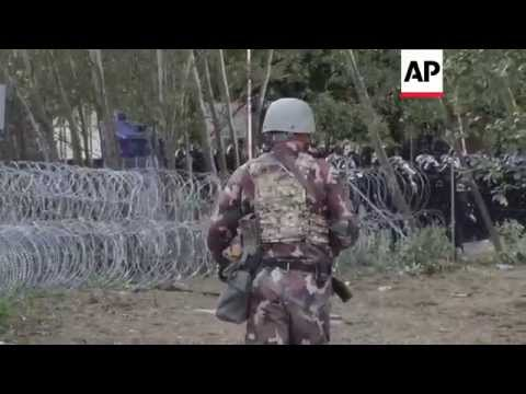Hungary police repel migrants at Serbia border | Editor's Pick | 16 Sept 15