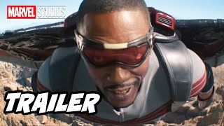 Falcon and Winter Soldier Trailer 2021 and Wandavision Marvel Phase 4 Easter Eggs