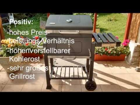 Tepro Toronto Holzkohlegrill Aufbau : Vorstellung test tepro grillwagen toronto holzkohlegrill youtube
