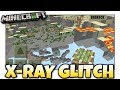 Minecraft - X-RAY GLITCH [ No Damage ] MCPE / Xbox / Bedrock
