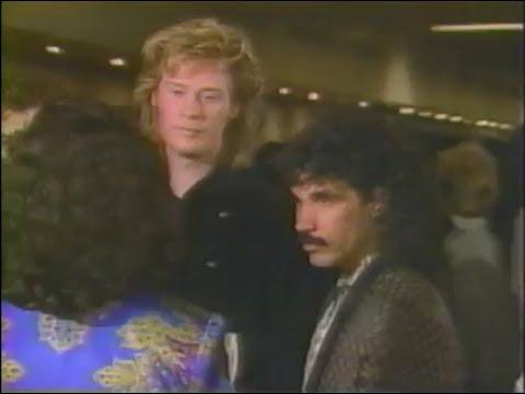 Hall & Oates 1987 Interview - Philadelphia Music Awards