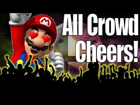 All Character's Crowd Cheering/Chants in Super Smash Bros Ultimate (Aka Crowd Favorites)
