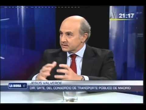 Miguel valverde presidente del consorcio de transporte for Oficina del consorcio de transportes de madrid