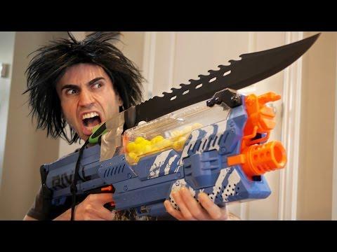 NERF WAR: Nerf Gun Rival!