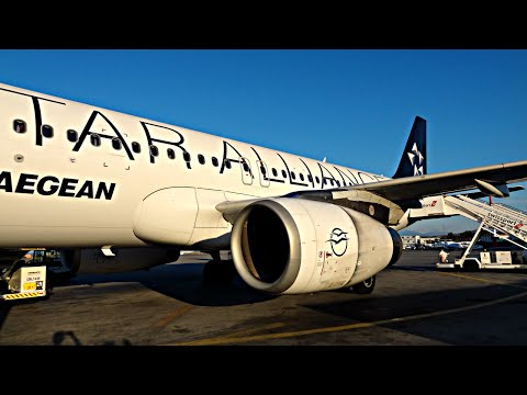 TRIP REPORT | Aegean Airlines | Airbus A320 | Athens - Heraklion | Economy | ✈