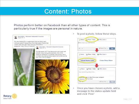 Facebook Basics for Rotarians 2014