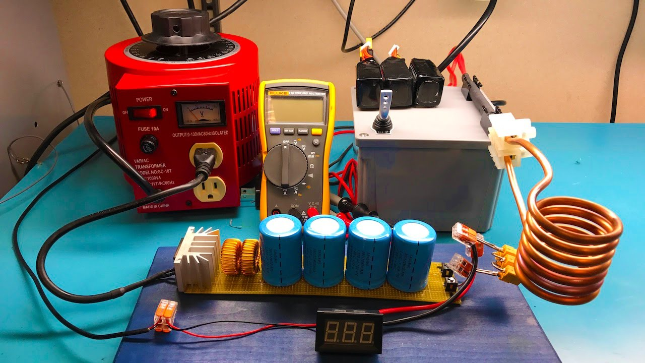Induction Heating Using Mosfets
