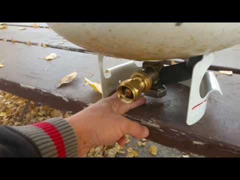 How To Safely Refill 1lb Propane Cylinders So It's Full - Full Time Rving